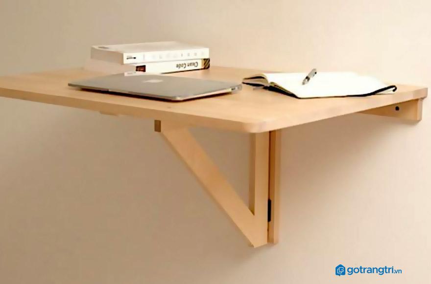 Cách làm bàn treo tường đơn giản