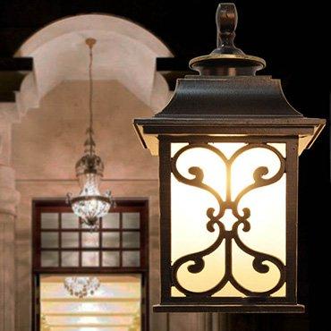Bảng giá các loại đèn sân vườn cho người thu nhập thấp