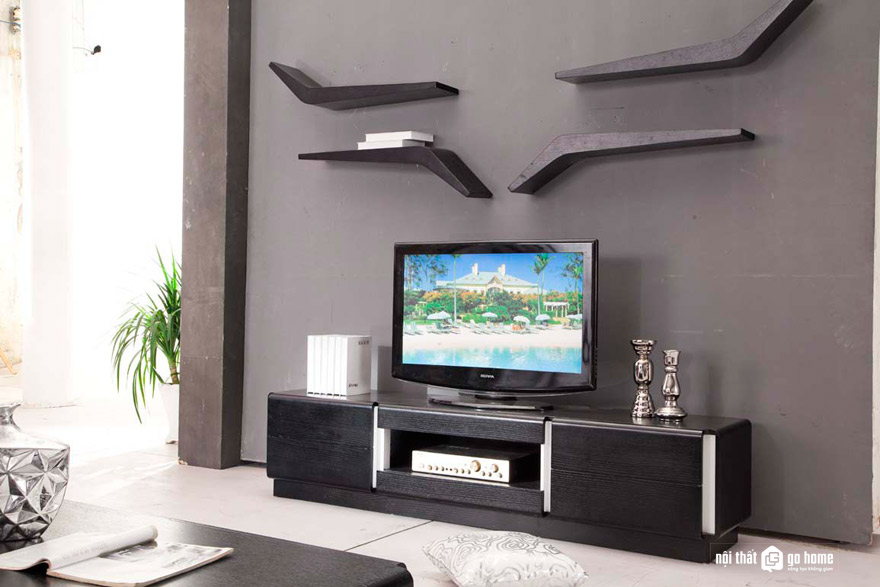 Các loại kệ tivi phù hợp cho phòng khách nhỏ