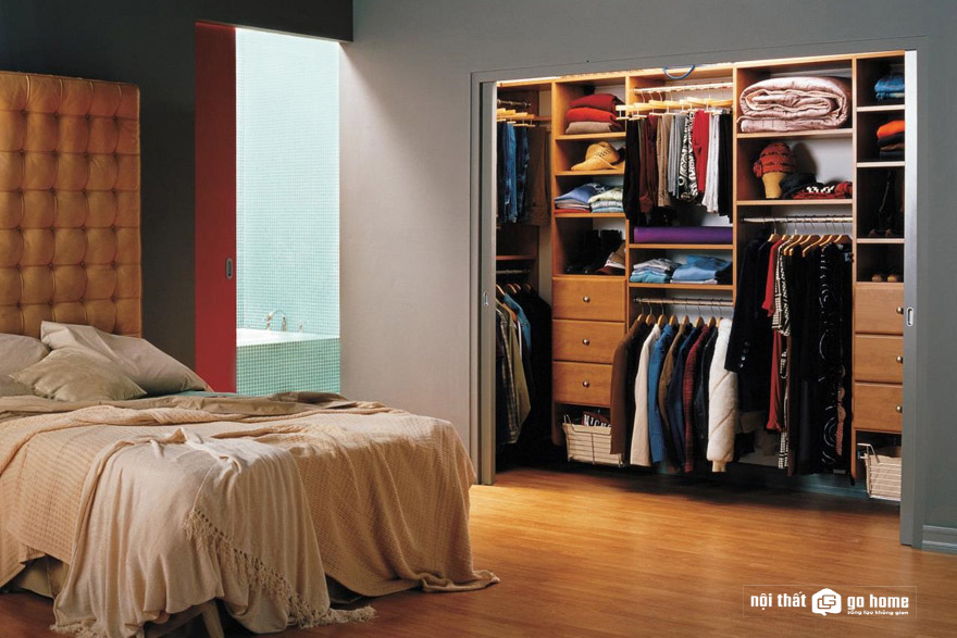 Các loại tủ quần áo cho phòng ngủ nhỏ