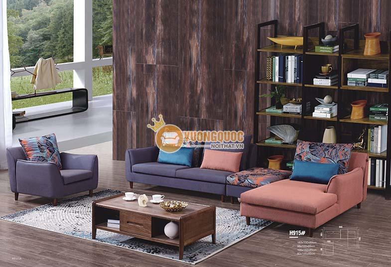 Bộ sofa phòng khách hiện đại BLL915