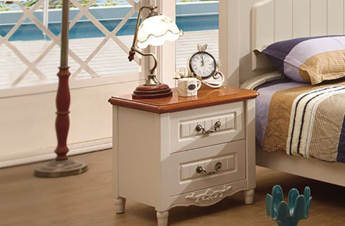 Tab đầu giường gỗ công nghiệp phong cách Hàn Quốc