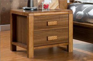 Tab đầu giường gỗ công nghiệp phong cách country style