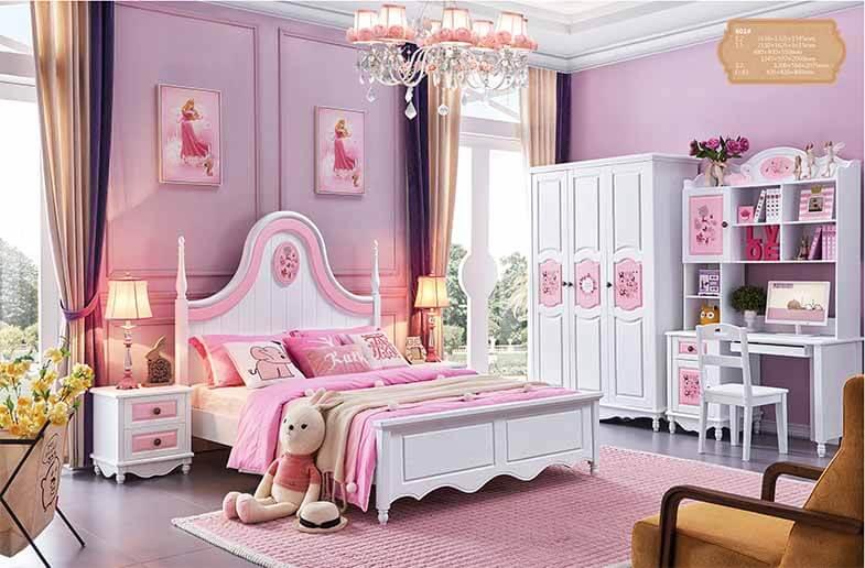 Trang trí phòng ngủ cho bé gái 11 tuổi đẹp đơn giản