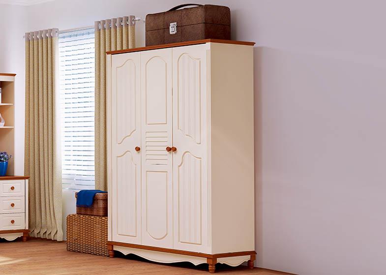 Tủ quần áo trẻ em bằng gỗ cao cấp HHM332Q