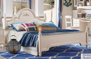 Bộ giường ngủ cao cấp thiết kế độc đáo JY806G