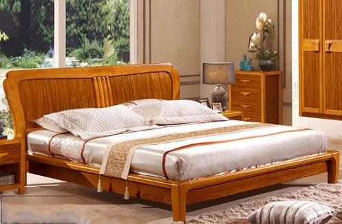Giường ngủ hiện đại phong cách đồng quê CNS3A007