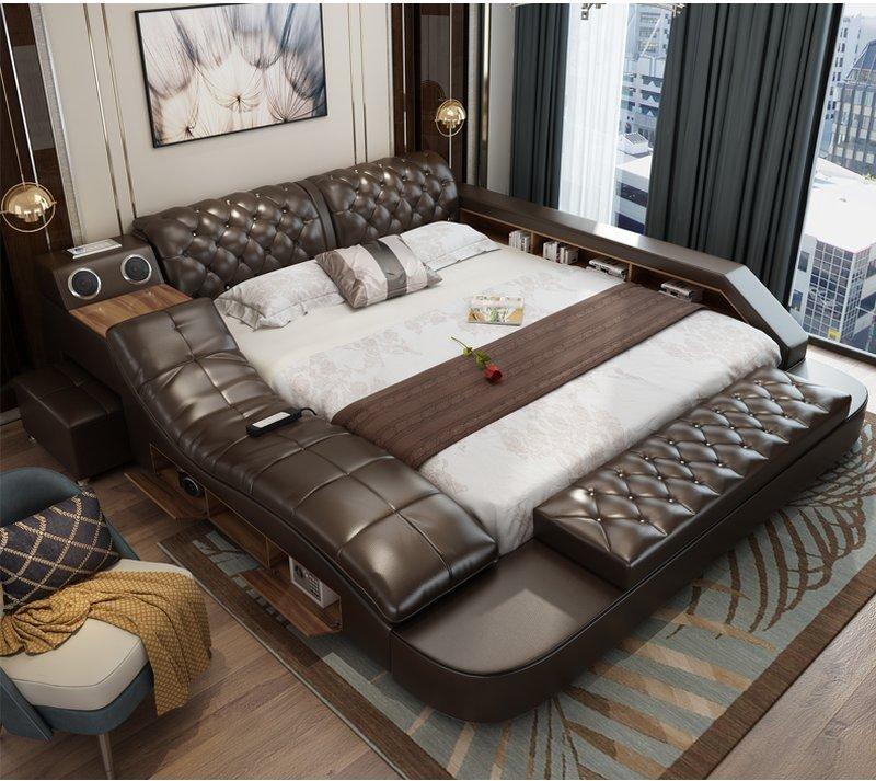 Giường ngủ massage cao cấp, tôn lên đẳng cấp gia chủ