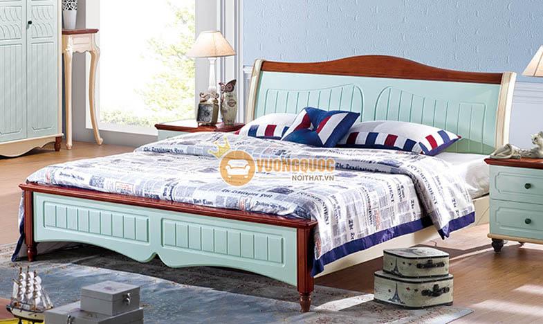 Giường ngủ phong cách hiện đại cao cấp DZH 9819G