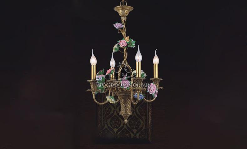 Tổng hợp những mẫu đèn chùm cực lãng mạn cho phòng ngủ của đôi uyên ương