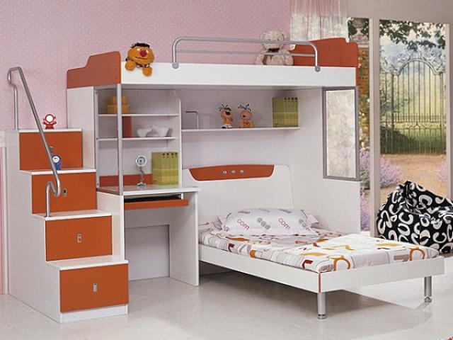 Thiết kế giường tầng thông minh đa dạng phong phú