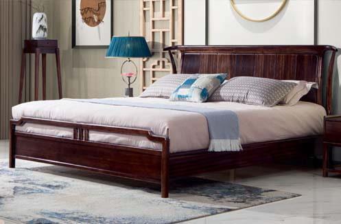 Giường ngủ nhập khẩu phong cách đồng quê