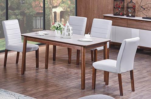 Bộ bàn ăn 4 ghế thiết kế hiện đại